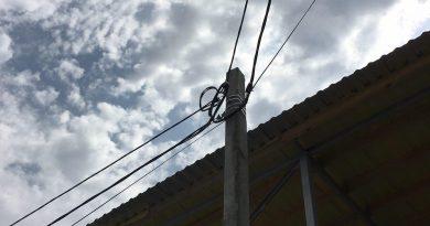 Замена опоры с переносом воздушных линий