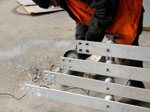 обработка шинного моста ТП
